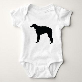 Borzoi Baby Bodysuit
