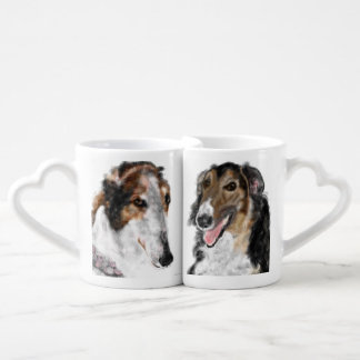 Borzoi Betrothed Coffee Mug Set