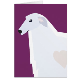 Borzoi Breed Template Design