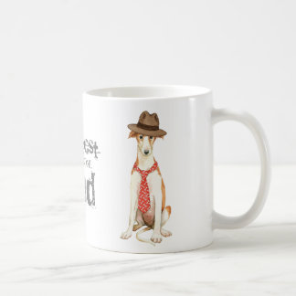 Borzoi Dad Coffee Mug