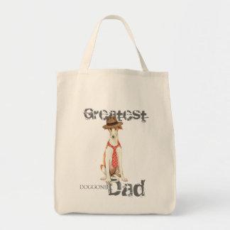 Borzoi Dad Tote Bag