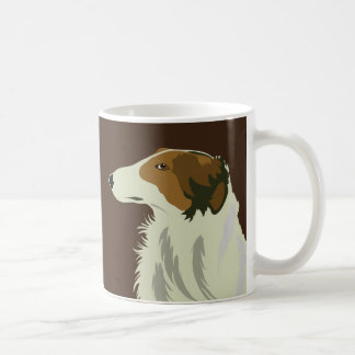 BORZOI dog Coffee Mug