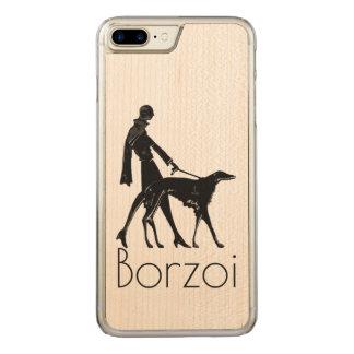 Borzoi iPhone 7 Plus Slim Maple Case