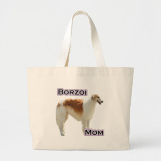 Borzoi Mom 4 Jumbo Tote Bag