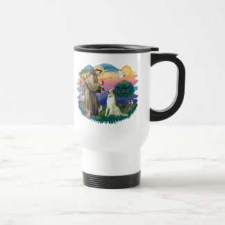 Borzoi (Russian Wolfhound) Travel Mug