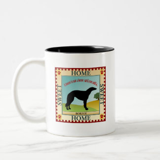 Borzoi Two-Tone Coffee Mug