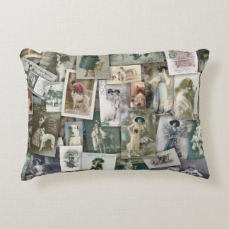 Borzoi, Vintage Decorative Pillow