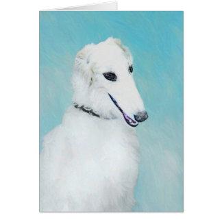 Borzoi (White) Card