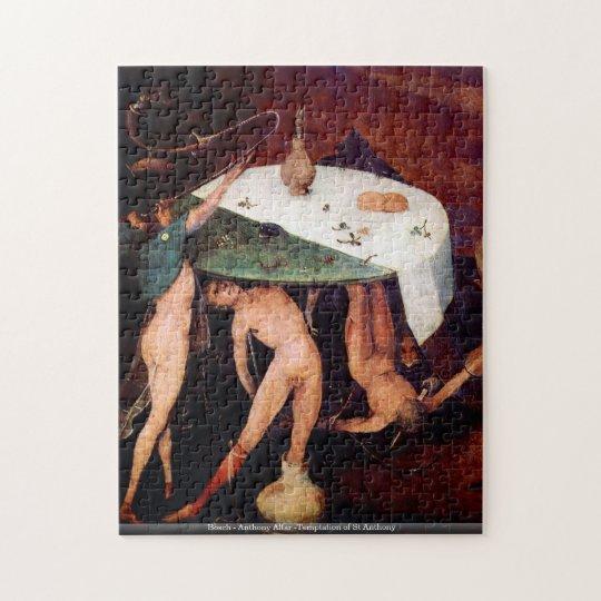 Bosch - Anthony Altar -Temptation of St Anthony Jigsaw Puzzle