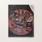 Bosch - Table w/ scenes of the seven deadly sins Jigsaw Puzzle