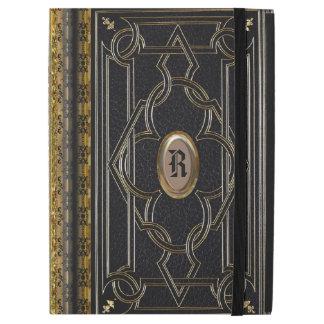 "Boscow Old Book Style Monogram iPad Pro 12.9"" Case"