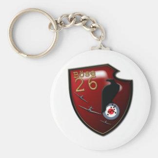Bose Geschwader 26 Emblem Basic Round Button Keychain