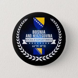 Bosnia and Herzegovina 2 Inch Round Button