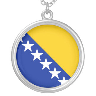 Bosnia And Herzegovina, Bosnia and Herzegovina Silver Plated Necklace