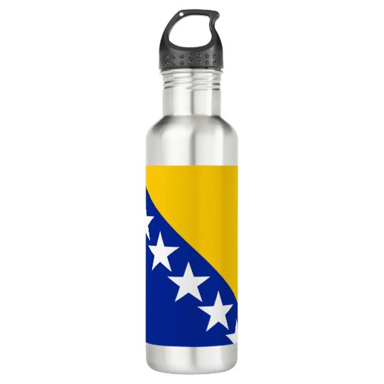 Bosnia and Herzegovina Flag 710 Ml Water Bottle