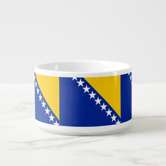 Bosnia and Herzegovina Flag Bowl