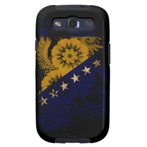 Bosnia and Herzegovina Flag Galaxy S3 Covers