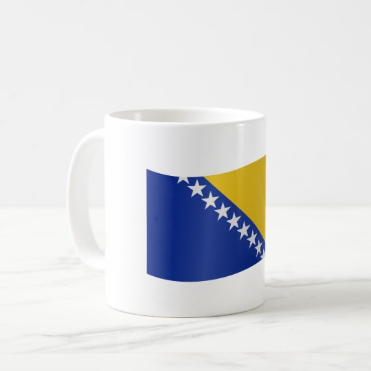 Bosnia and Herzegovina Flag Coffee Mug