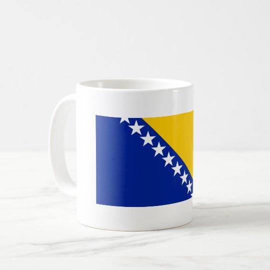 Bosnia and Herzegovina Flag Coffee Mug