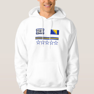 Bosnia and Herzegovina Flag Hoodie