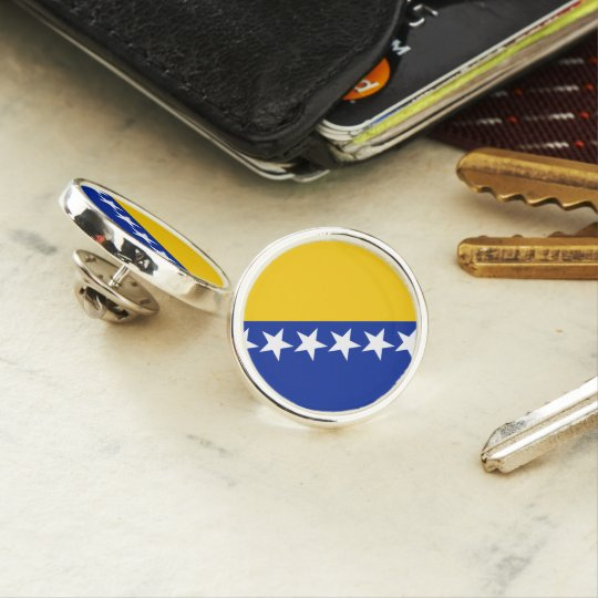Bosnia and Herzegovina Flag Lapel Pin