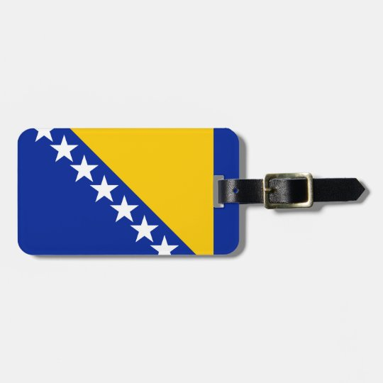 Bosnia and Herzegovina Flag Luggage Tag