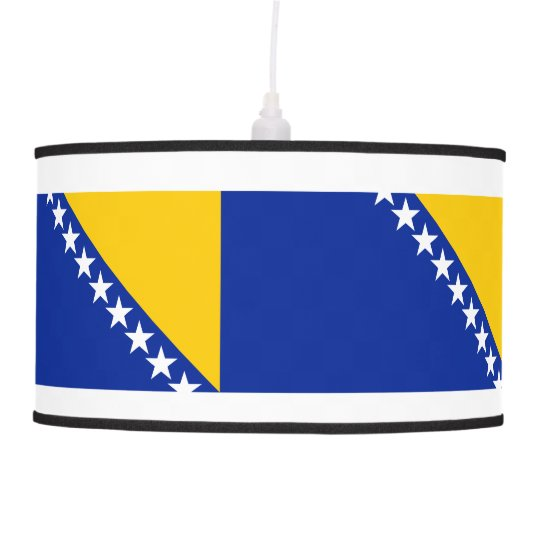 Bosnia and Herzegovina Flag Pendant Lamp