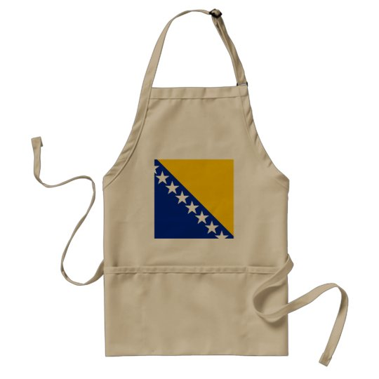 Bosnia and Herzegovina Flag Standard Apron