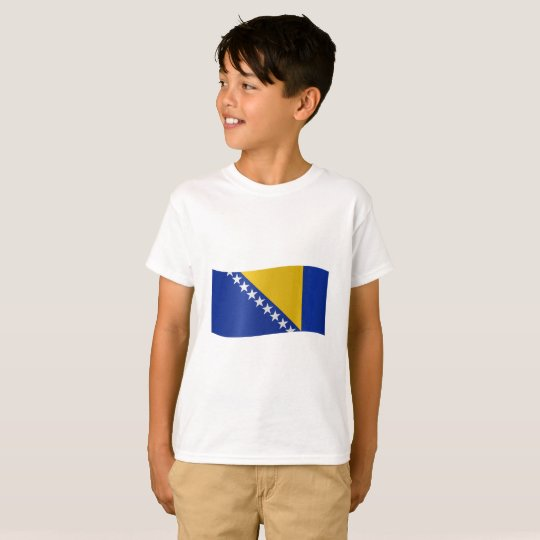 Bosnia and Herzegovina Flag T-Shirt