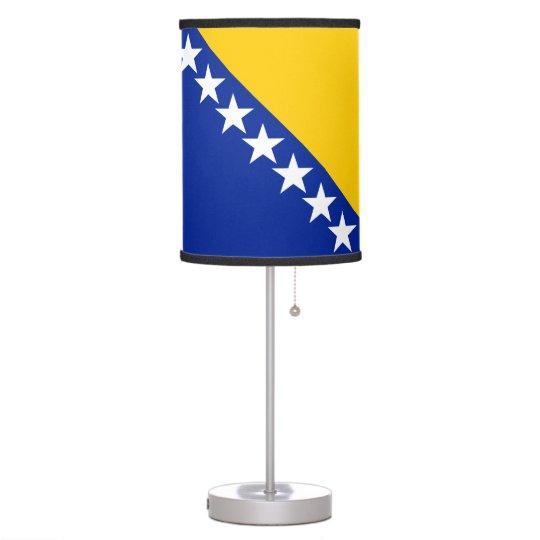 Bosnia and Herzegovina Flag Table Lamp