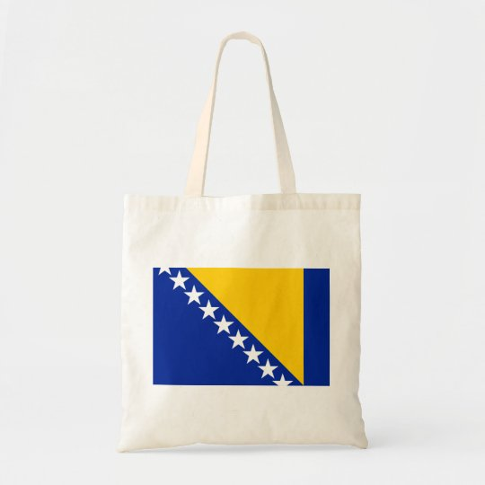 Bosnia and Herzegovina Flag Tote Bag