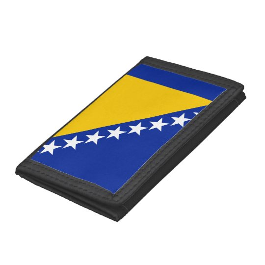 Bosnia and Herzegovina Flag Trifold Wallets