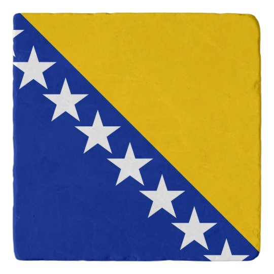 Bosnia and Herzegovina Flag Trivet