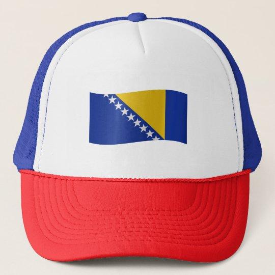 Bosnia and Herzegovina Flag Trucker Hat