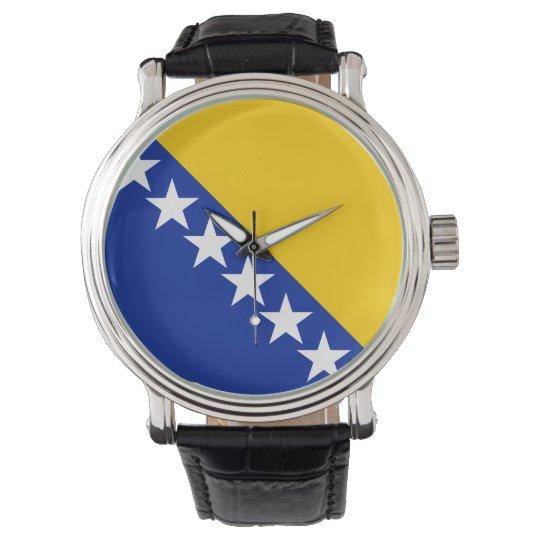 Bosnia and Herzegovina Flag Watch