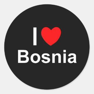 Bosnia Classic Round Sticker