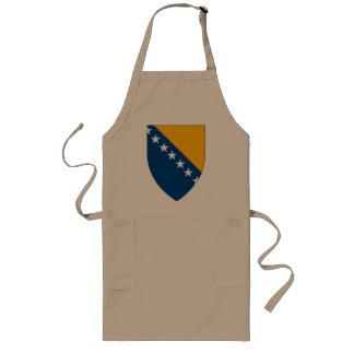 Bosnia Coat of Arms Apron