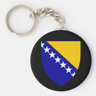 bosnia emblem keychain