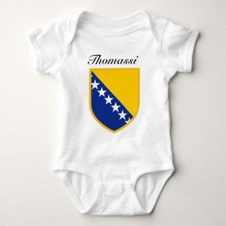 Bosnia Flag Baby Bodysuit