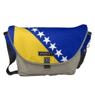 Bosnia Flag Messenger Bag