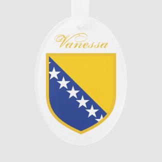 Bosnia Flag Ornament