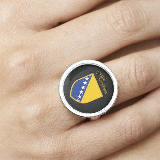 Bosnia Flag Ring