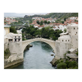 Bosnia-Hercegovina - Mostar. The Old Bridge Postcard