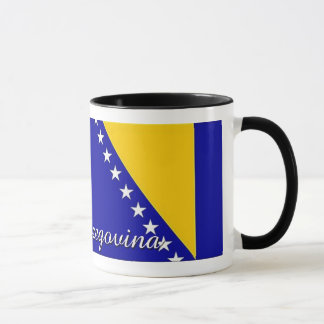 Bosnia Herzegovina Flag Coffee Mug
