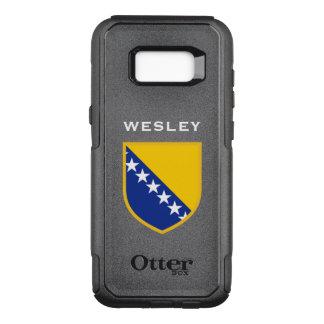 Bosnia Herzegovina Flag OtterBox Commuter Samsung Galaxy S8+ Case