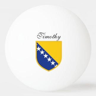Bosnia Herzegovina Flag Ping-Pong Ball
