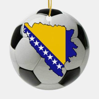 Bosnia-Herzegovina football soccer ornament