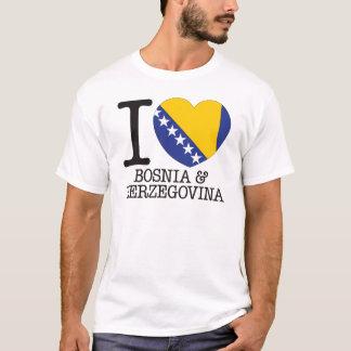 Bosnia Herzegovina Love v2 T-Shirt