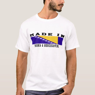 Bosnia & Herzegovina Made In Designs T-Shirt