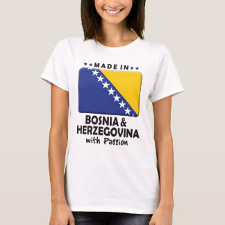 Bosnia Herzegovina Passion K T-Shirt